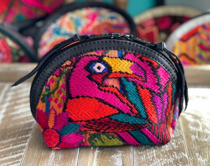 Featured listing image: Prima Perfect Glam Clam Leather and Pouch - Tropic Toucan