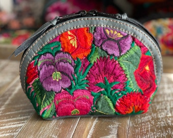 Prima Perfect Glam Clam Leather and Pouch - Spring Garden