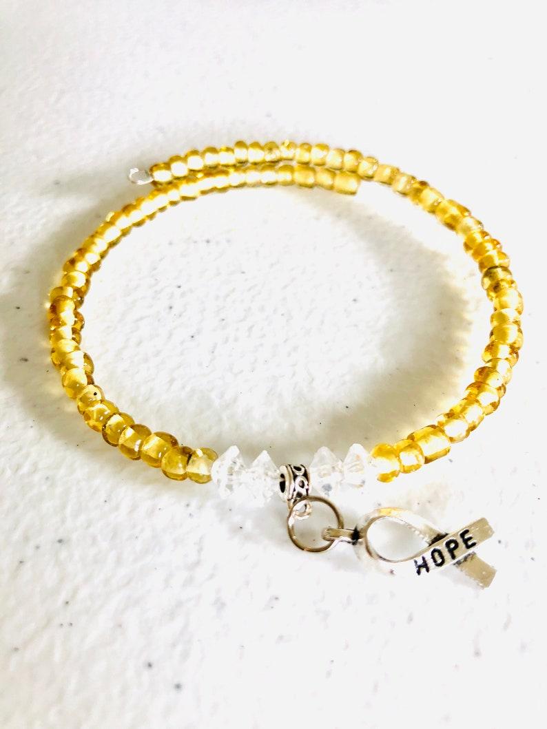 Awareness Bracelet Awareness Bracelets Hemangioma Stuttering Stomach Cancer Cancer Gifts Cancer Treatment Gift Factor V Leiden PANDAS
