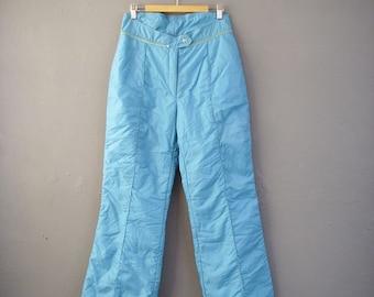 480b7b021 Vintage Snow Suit Trousers, Winter Sports Ski Pants, Size Medium