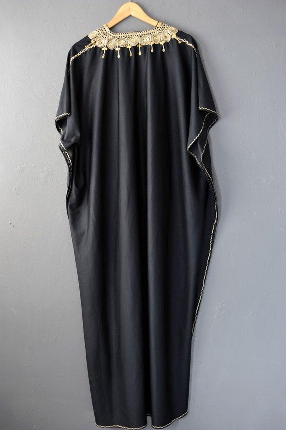 Vintage Caftan Beach Dress, Moroccan Style Holida… - image 3