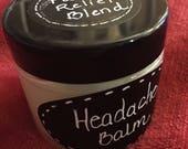 Headache Balm - Pain Relief Blend