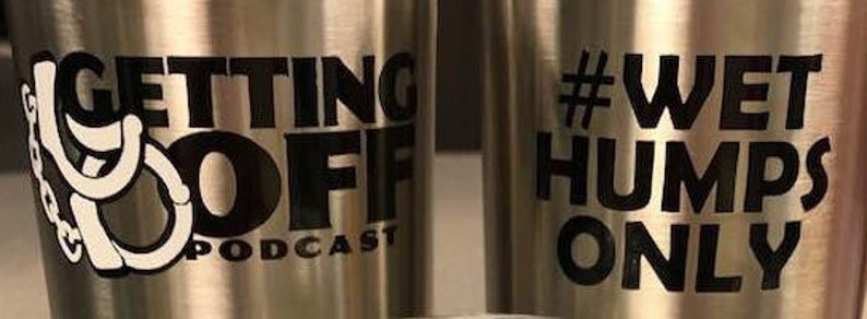 Getting Off Podcast Permanent Vinyl Stickers image 0