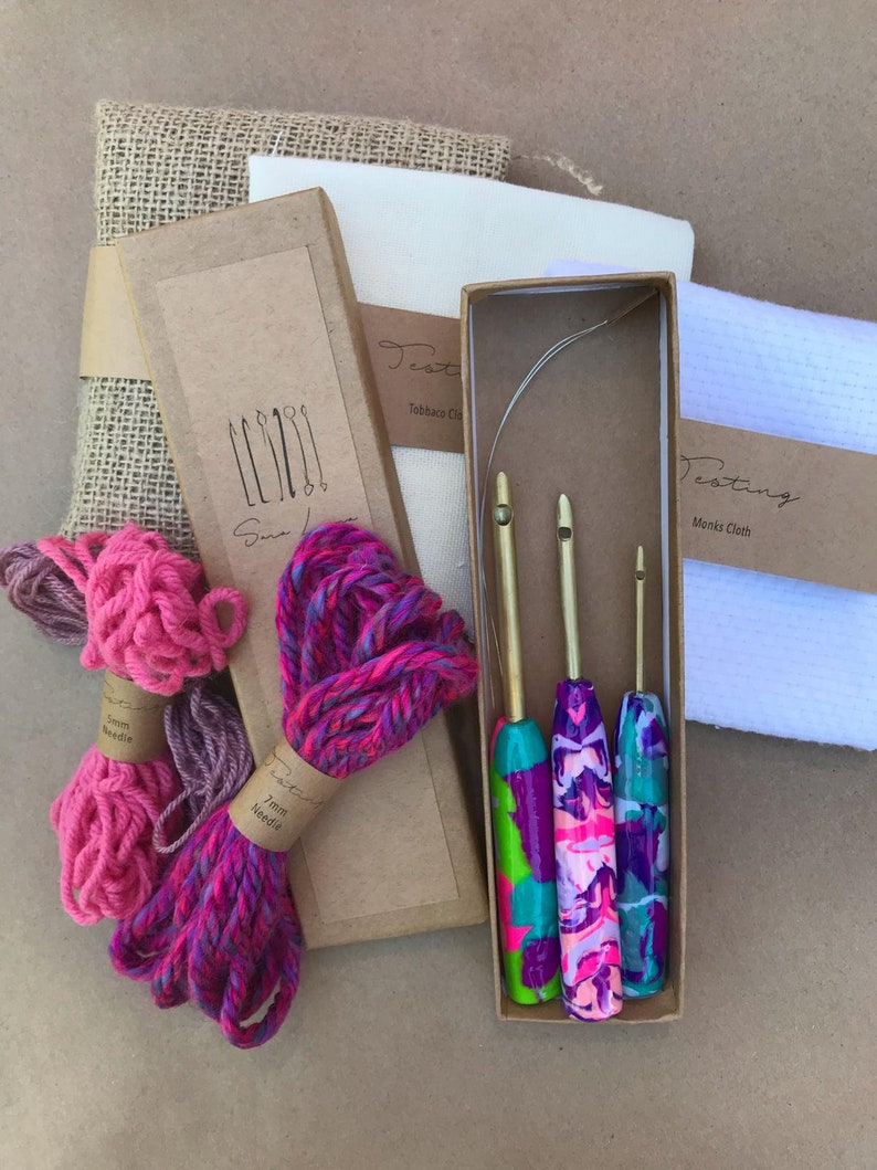 Starter Pack Testing The Punch Needle