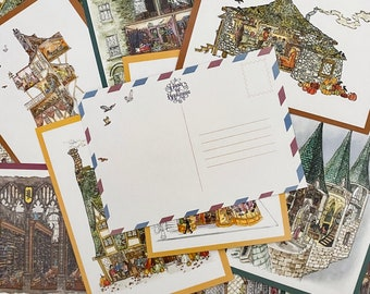 Postcard Pack    First collection of HP Dollhouse Drawings