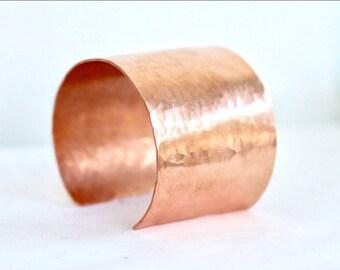 Copper bracelet,  copper hammered bracelet, copper cuff, copper hammered cuff, anniversary gift, womens cuff bracelet, womens bracelet,