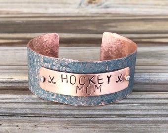 Gift For Hockey Mom, Hockey Mom Bracelet, Hockey Mom Jewelry, Hockey Mom Gift Ideas, Hockey Mom Mothers Day, Football, Lacrosse, Baseball