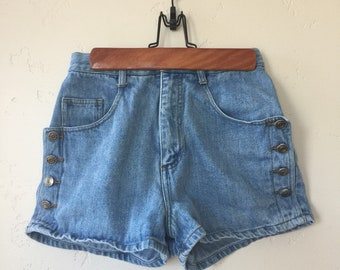 Vintage BHDC Denim Shorts