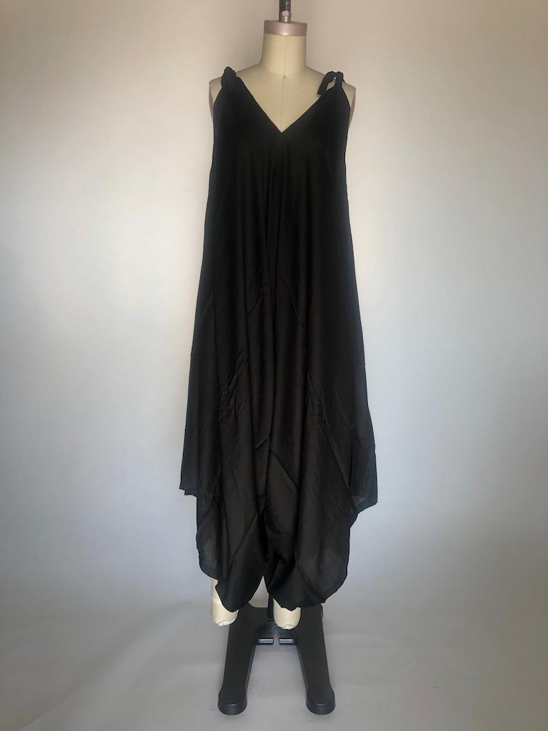 Harem Jumpsuit pantsuit swimsuit cover up Women/'s jumpsuit wide leg jumpsuit Fits sizes Small-XXlarge Boho jumpsuit One size