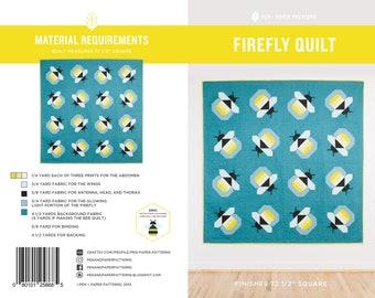 Firefly PDF Quilt Pattern