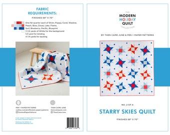 Starry Skies PDF Quilt Pattern
