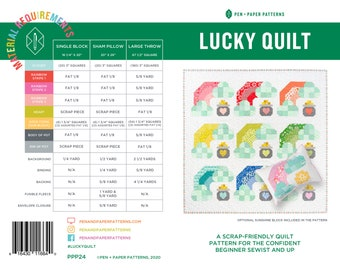 PDF Lucky Quilt Pattern