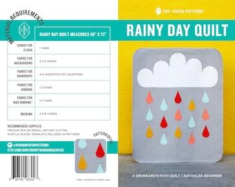 PDF Rainy Day Quilt Pattern