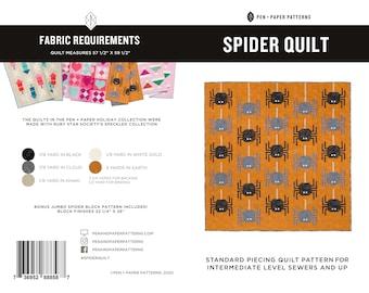 PDF Spider Quilt Pattern