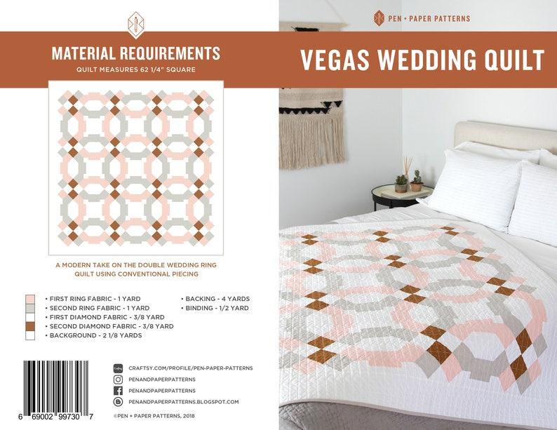 Vegas Wedding PDF Quilt Pattern image 0