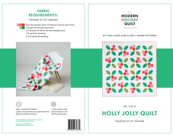 Holly Jolly PDF Quilt Pattern