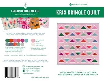 PDF Kris Kringle Quilt Pattern