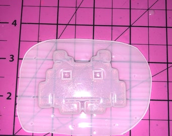 Space Invader - Flexible Plastic Resin Mold