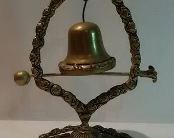 Brass table Bell / Bell appeal on base