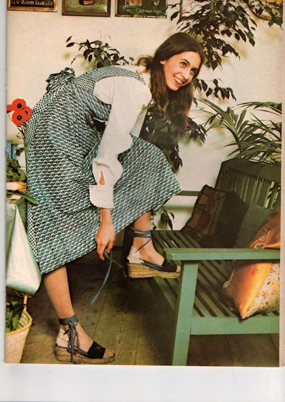 Modèle-Patron Robe Tablier Femme / Tailles | Etsy