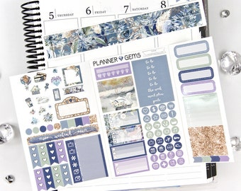 Shine Pocket TN / Personal Weekly Planner Kit | ~100 Stickers | Planner Stickers | For TN / Personal Planners