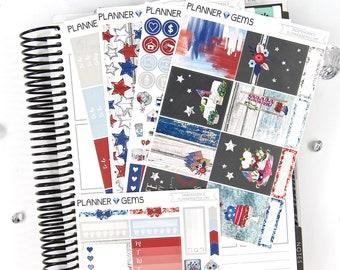 Independence Essential Weekly Planner Kit | 150+ Stickers | Planner Stickers | For Erin Condren LifePlanner