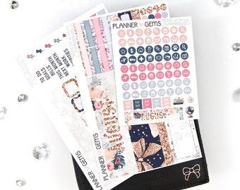 School Life August Monthly B6 TN Planner Kit | ~100 Stickers | Planner Stickers | For Erin Condren LifePlanner