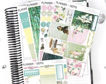 Enchanted Essential Weekly Planner Kit | 150+ Stickers | Planner Stickers | For Erin Condren LifePlanner