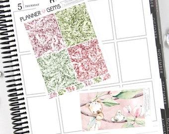 Unconditional Gem Header Stickers & Double Box Bundle | 36 Stickers | Planner Stickers | For Erin Condren LifePlanner