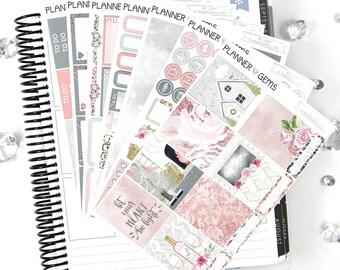 Be Light Deluxe Weekly Planner Kit | 250+ Stickers | Planner Stickers | For Erin Condren LifePlanner