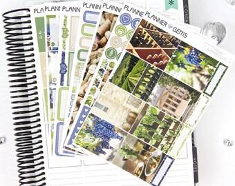 Vineyard Deluxe Weekly Planner Kit | 250+ Stickers | Planner Stickers | For Erin Condren LifePlanner