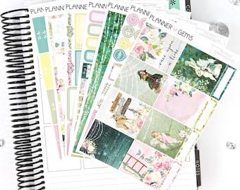 Enchanted Deluxe Weekly Planner Kit | 250+ Stickers | Planner Stickers | For Erin Condren LifePlanner