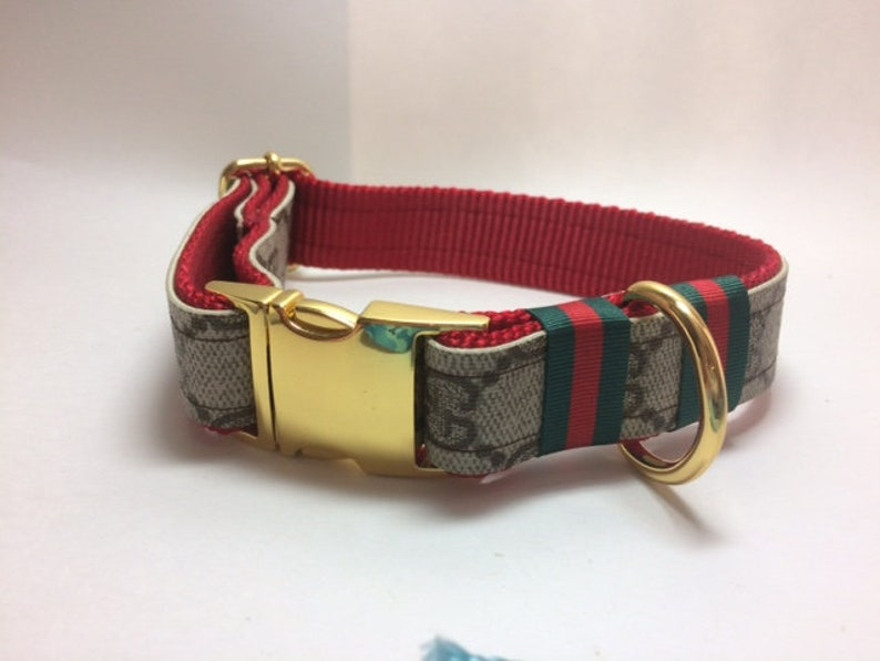 c5074e41c40 Gucci Dog Collar Gucci Leash Combo Available Gucci Upcycle