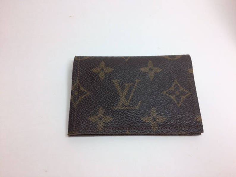 2168b4f3af05 Louis Vuitton Wallet Upcycled LV Monogram Wallet Recycled