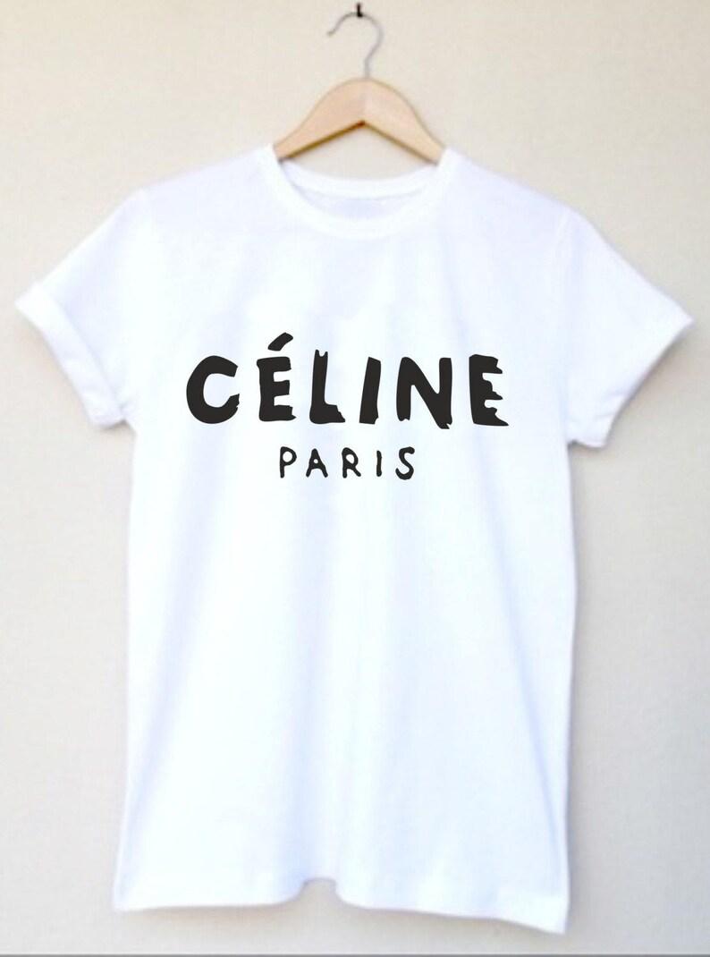 new product 744bd 9d2c6 Tshirt Paris tshirt High Fashion Inspired Custom T Shirt