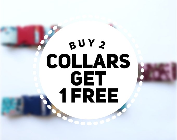 Featured listing image: Buy 2 Collars Get 1 Free