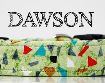 Dawson - Geometric Multicolor Shapes Handmade Collar