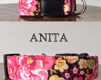 Anita   Floral Handmade Collar