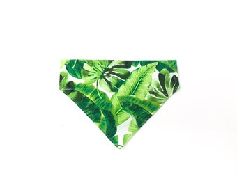 Lanikai | Tropical Leaf Over the Collar Bandana
