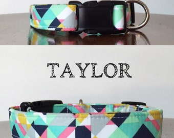 Taylor | Multiple Colors Abstract Handmade Collars