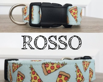 Rosso - Pizza Inspired Collar