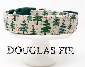 Douglas Fir | Christmas Tree Inspired Dog Collar
