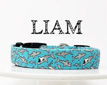 Liam | Shark Inspired Dog Collar