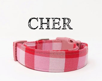 Cher | Buffalo in Pink Dog Collar