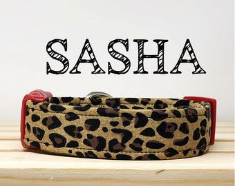 Leopard Inspired Dog Collar | Sasha