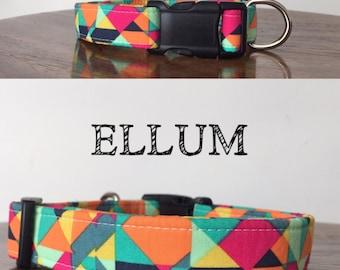 Ellum -Multi Color Abstract Inspired Handmade Collar