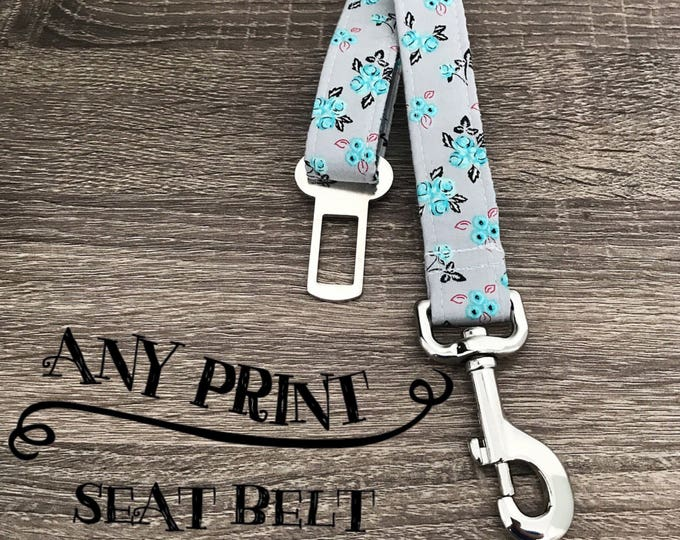 Featured listing image: Any Print- Seat Belt