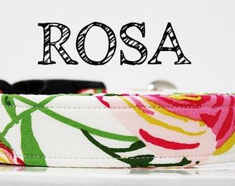 Rosa - Rose, Floral Inspired Handmade Collar