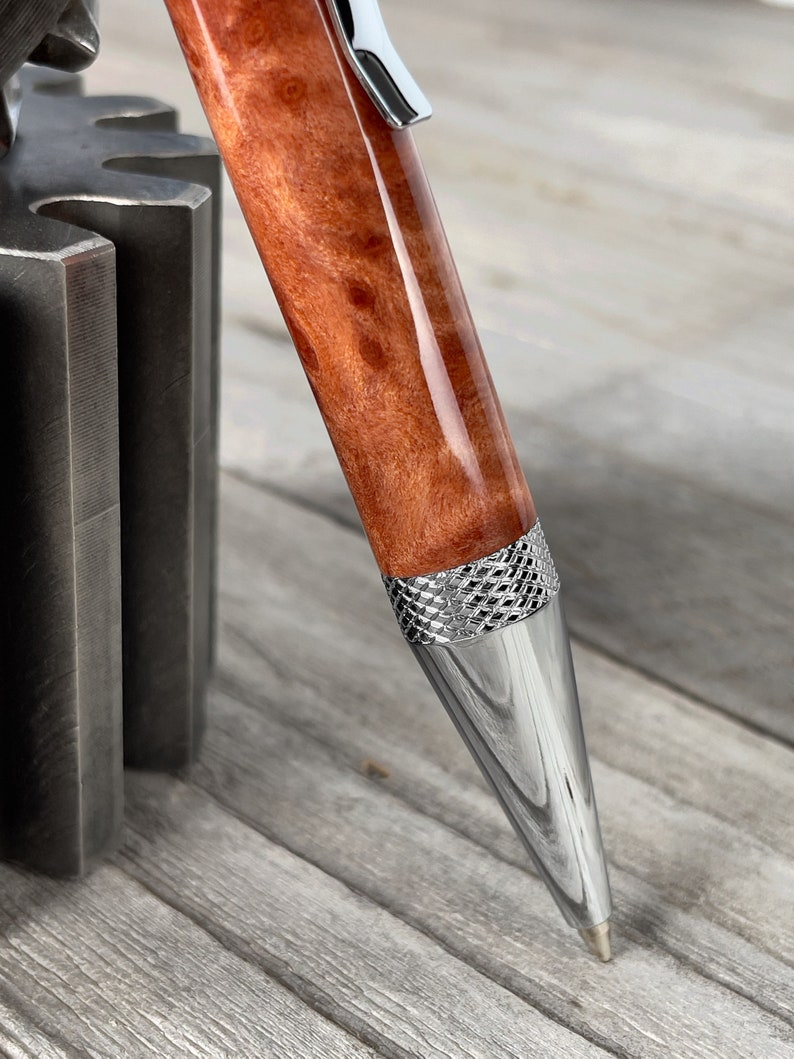 Crosshatch Twist Ballpoint Pen