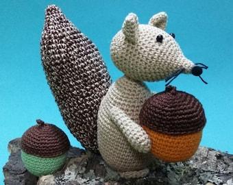 Ardilla greedy squirrel glotona-Greedy squirrel-cureuil-é Gourmand